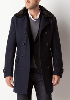 manteau long homme je change de style. Black Bedroom Furniture Sets. Home Design Ideas