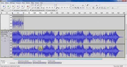 Comment se servir d 39 audacity - Comment se debarrasser du salpetre ...