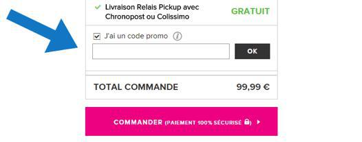 code de réduction vente privée