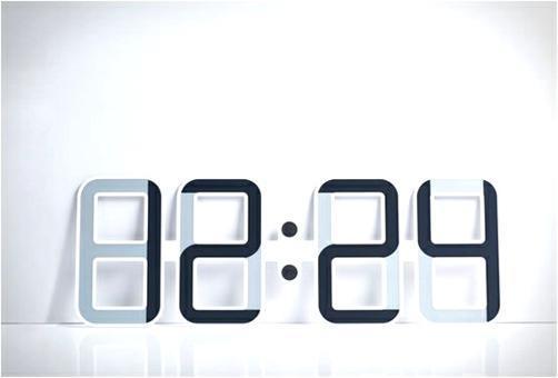 horloge digitale murale a pile