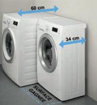 machine à laver petit format